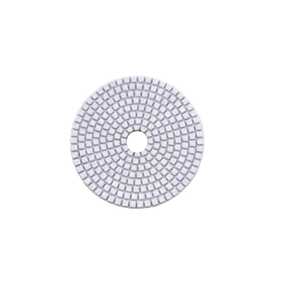 Wet white polishing pads 1