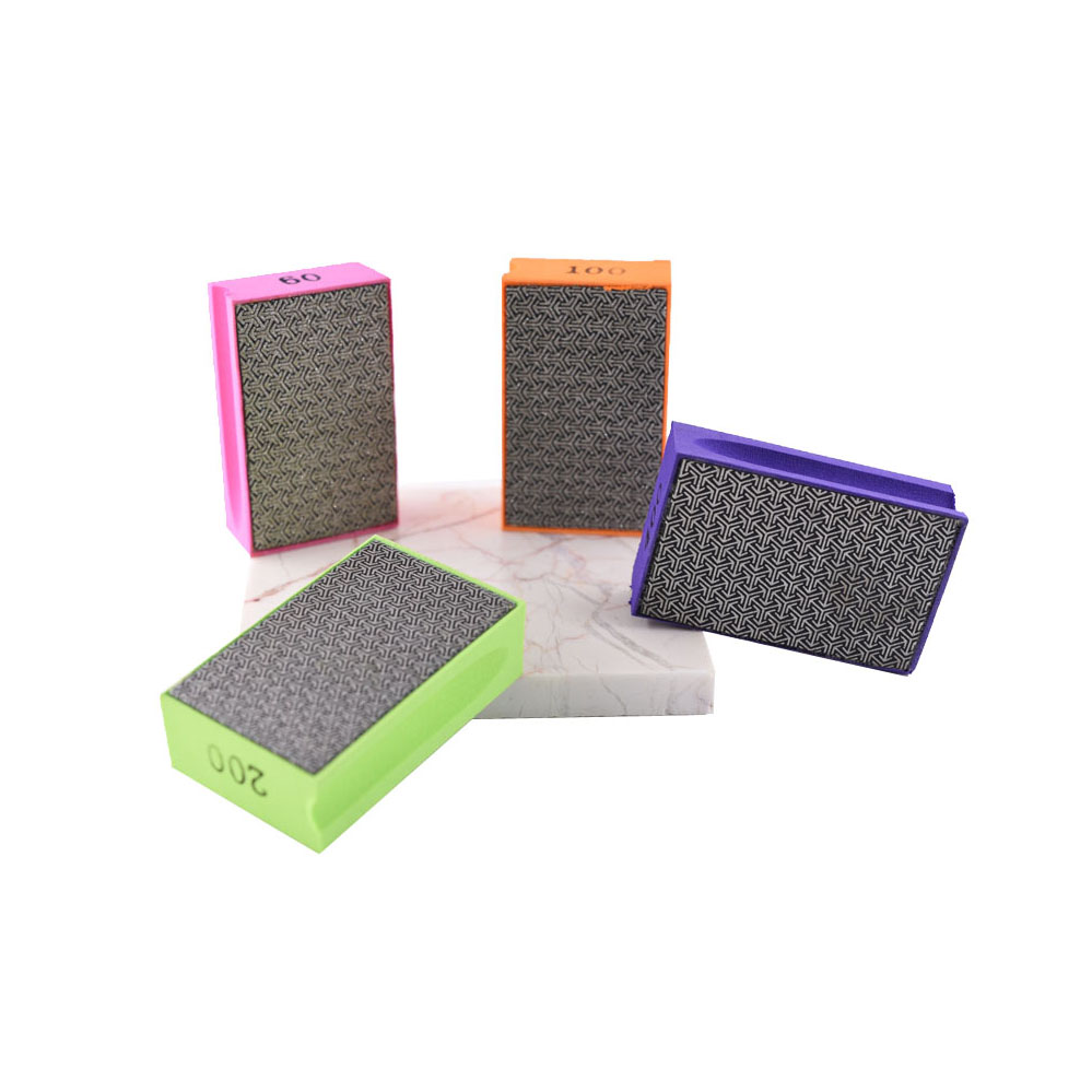 Electroplated hand pads 3