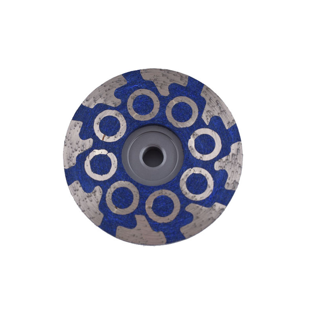 Round T-segment resin filled cup wheel 1
